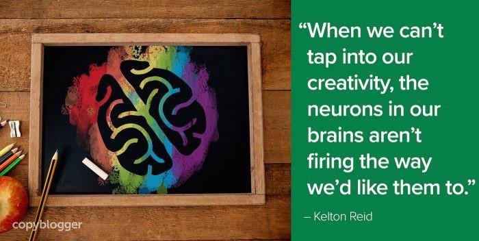 blogging brain